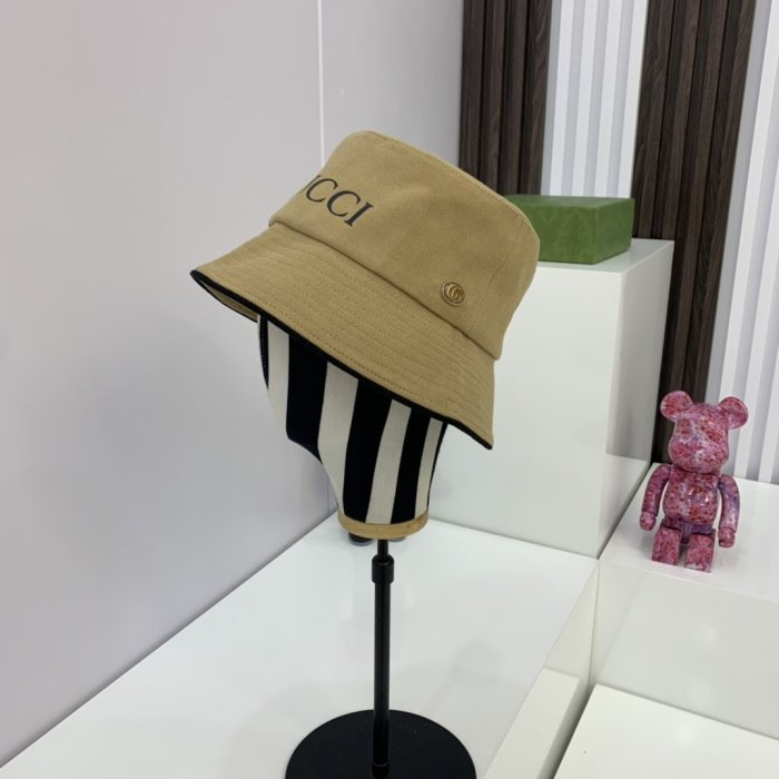 Simple classic all-match bucket hat
