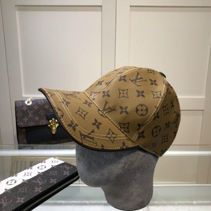 Classic full print leather baseball cap