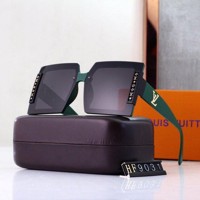 6 colors large frameless L HF9031 sunglasses