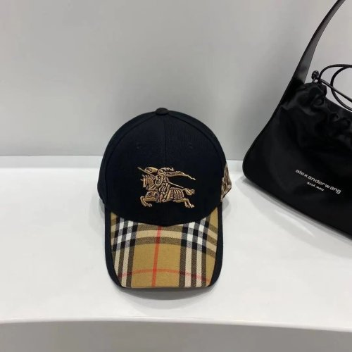 Classic Check Embroidered Baseball Cap