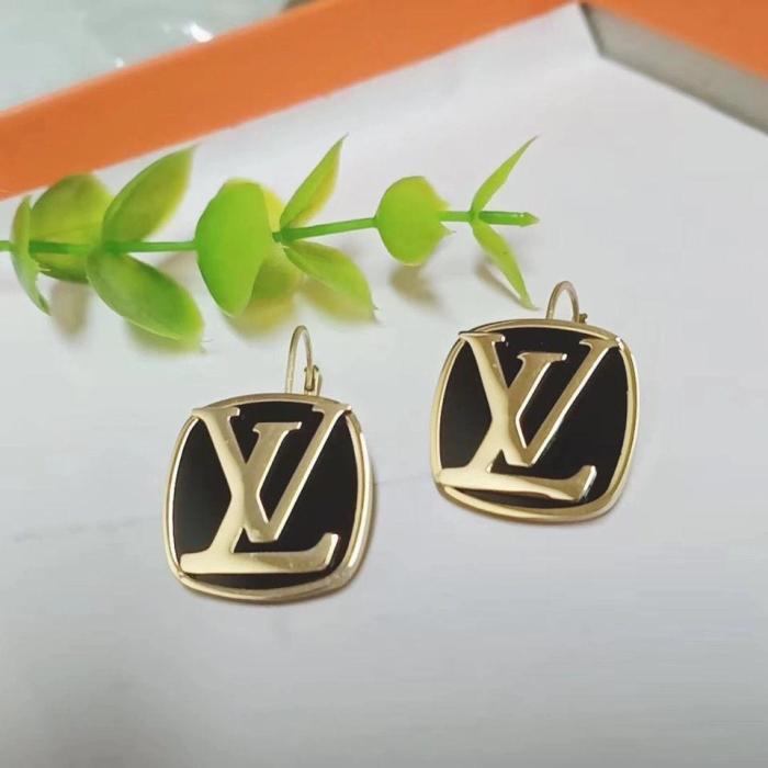 Square vinyl earrings