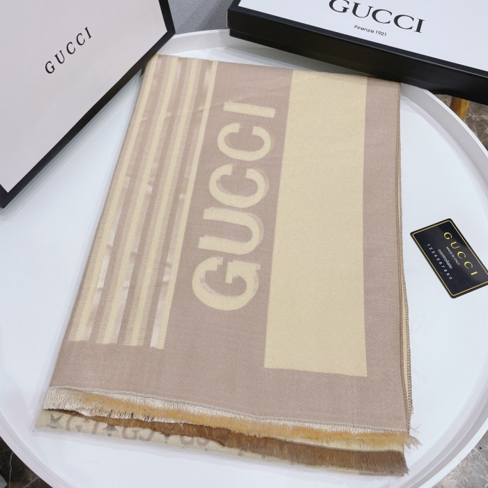 6-color Striped Contrast Cashmere Scarf