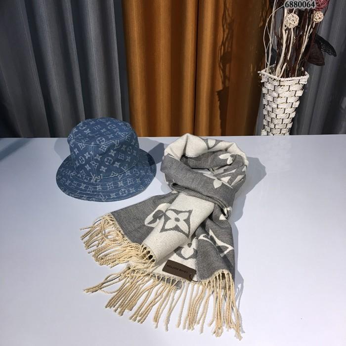 All-match Wool Fringed Scarf