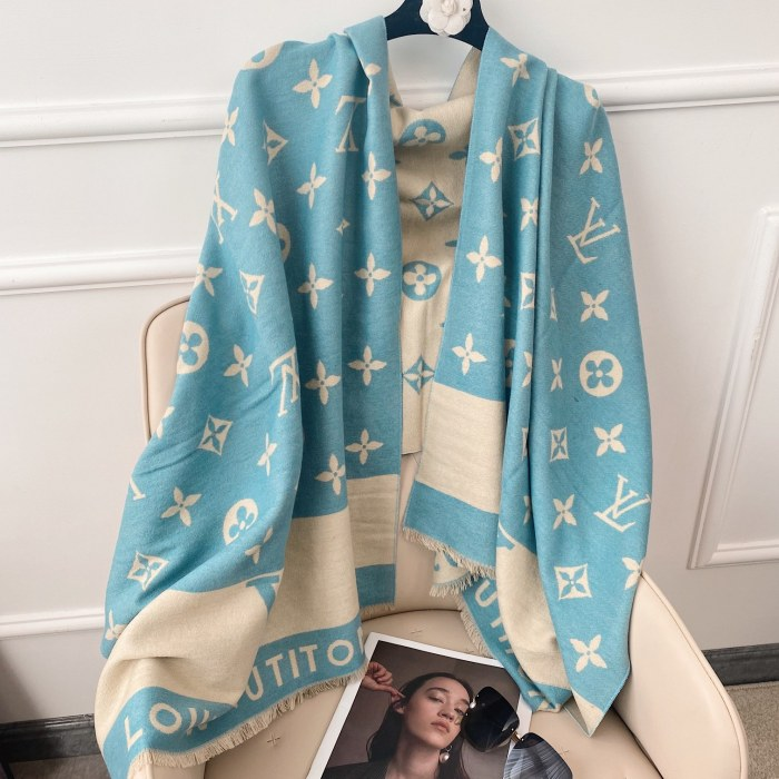 Thick Cashmere Double-sided Scarf