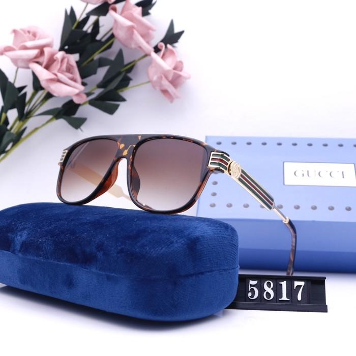 Fashion High Definition Round Frame Sunglasses