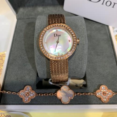 Five Flower Bracelet Set Ladies Watch