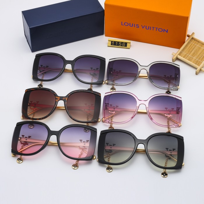 Fashion Metal Chain Sunglasses