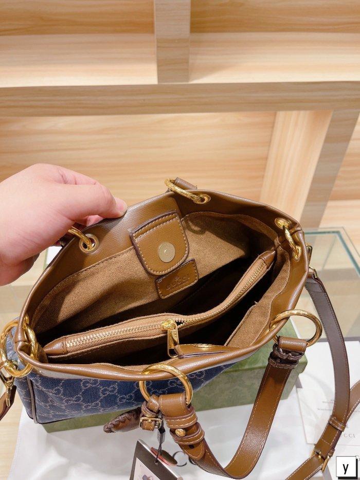 Denim Denim Series Denim Tote Bag