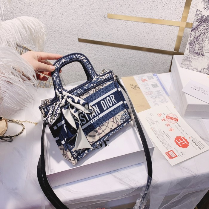Embroidered Shopping Bag