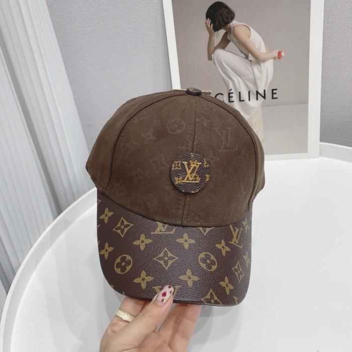 New Style Deerskin Suede Stitching Baseball Cap