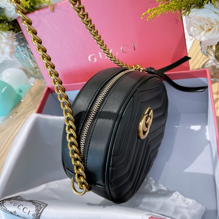 Marmont Series Small Round Bag