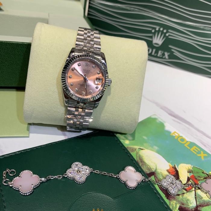 3-pin Log Series Ceramic Ring Female Watch