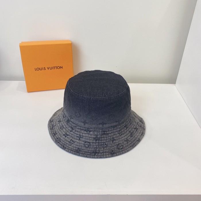 Fashion Gradient Old FlowerBbucket Hat