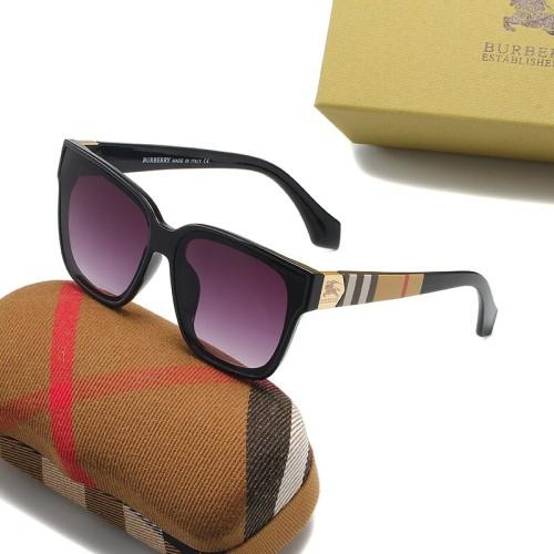 Fashion Plaid Element Sunglasses