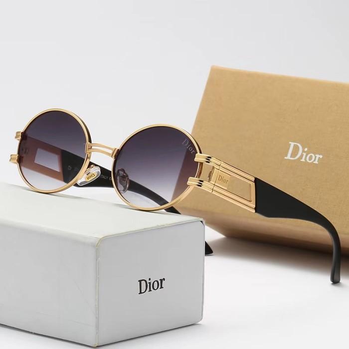 Fashion Metal Round Frame Sunglasses
