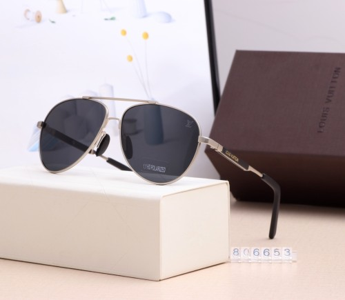 Classic Thin Frame Polarized Sunglasses