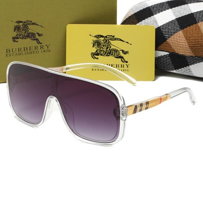 Fashion One-piece Big Frame Sunglasses