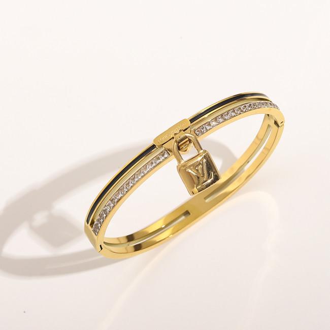 Diamond Lock Bracelet