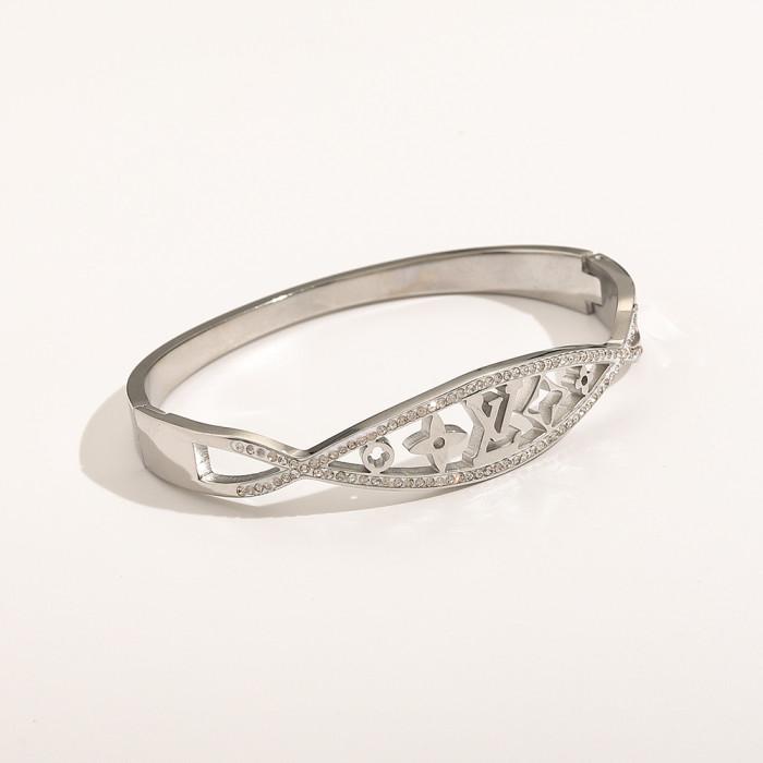 Hollow Diamond Bracelet