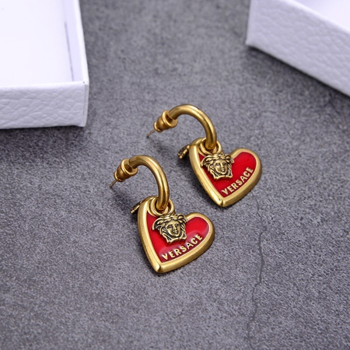 VIRTUS Series Love Epoxy Earrings