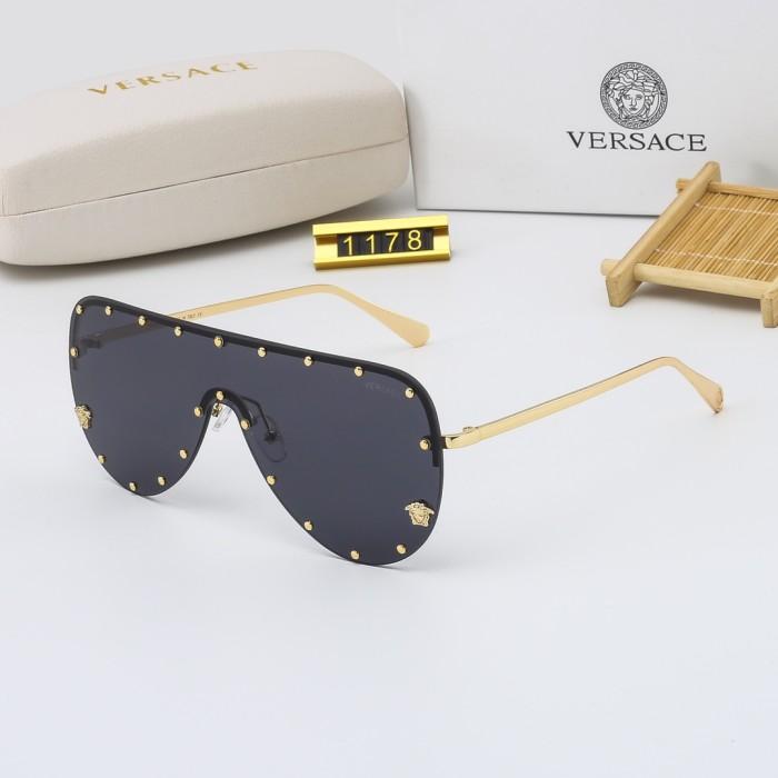 Fashion Rivet One Piece Sunglasses