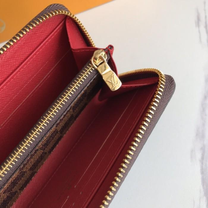 Monogram Portable Zipper Wallet