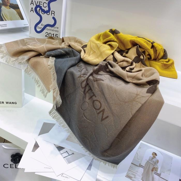 Fashion Cashmere Gradient Warm Scarf
