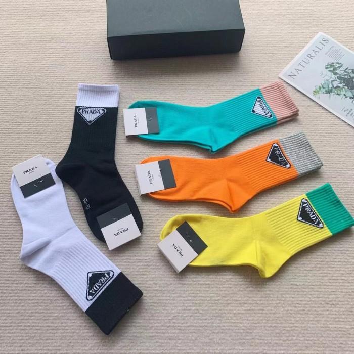 Triangular Letter Stockings