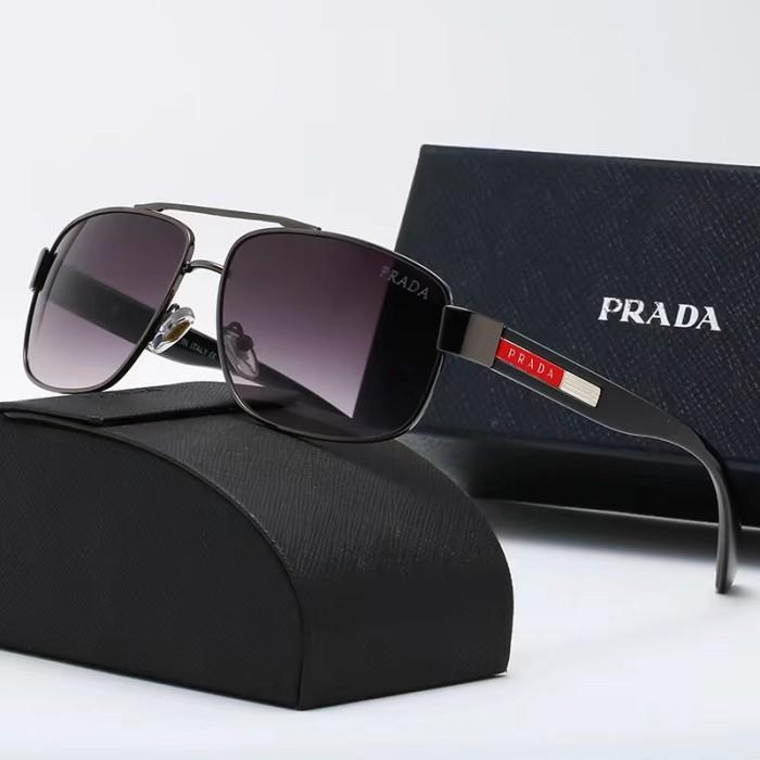 Stylish Metal Frame Driving Sunglasses