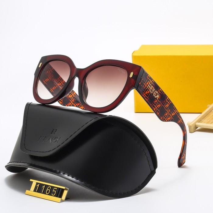 Fashion Round Frame HD Sunglasses