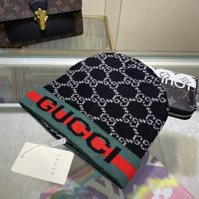 Fashion Striped Wool Knit Hat