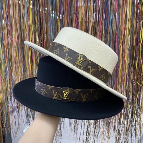 Fashion Belt Wool Hat