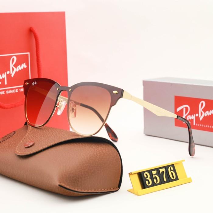 Sunshine Series Color Film Reflective Sunglasses(Free original mirror box)