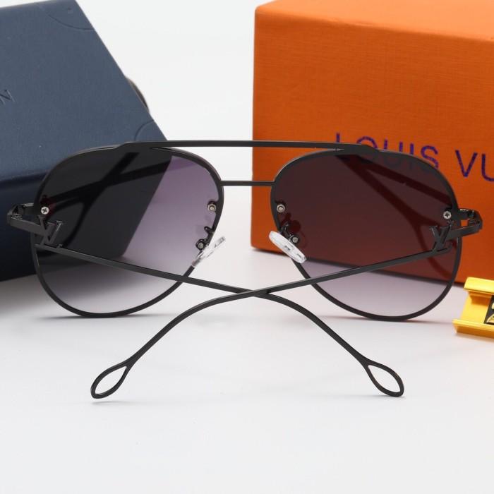 New frameless printing L2482 sunglasses