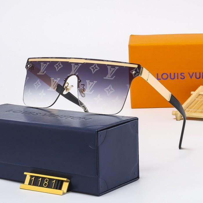 Fashion One-piece Watermark Sunglasses