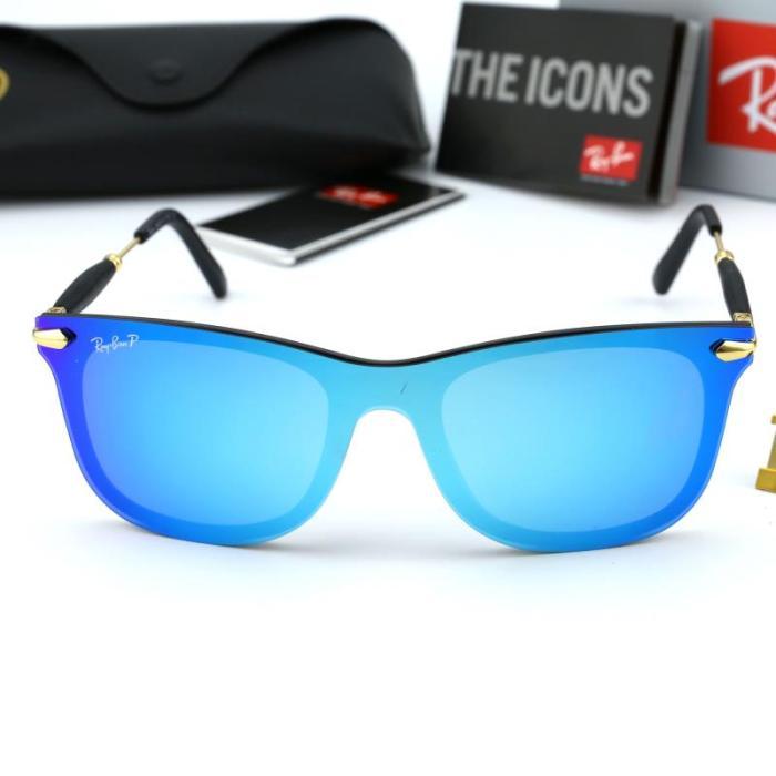 Personalized One-piece Polarized Sunglasses