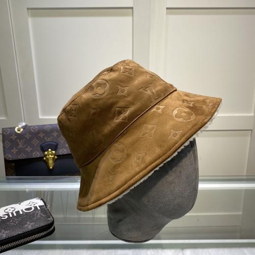 Double-sided Deerskin & Lamb Wool Bucket Hat