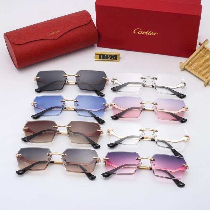Personality Temple HD Sunglasses