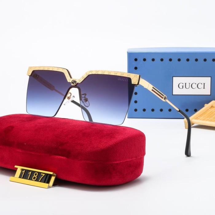 Personalized Half-frame Polarized Sunglasses