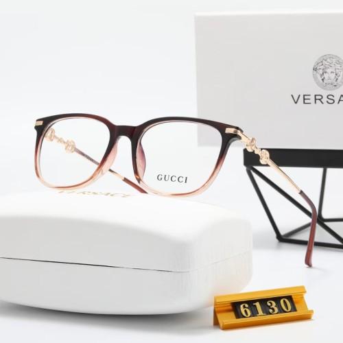 Classic Gradient Frame Flat Glasses