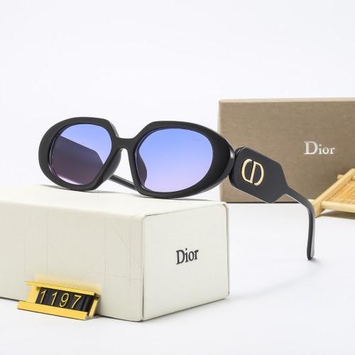 Cat-eye Thin Temples Casual Sunglasses