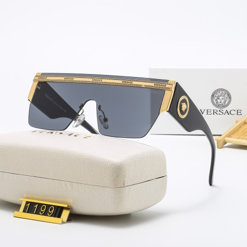 One-piece Gradient Ocean Series HD Sunglasses