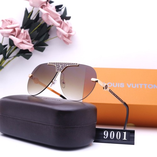Fashion One-piece Frameless Sunglasses