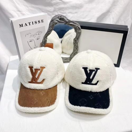 Fashion Plush Warm Baseball Cap