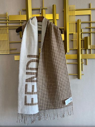 Double-faced Jacquard Cashmere Scarf