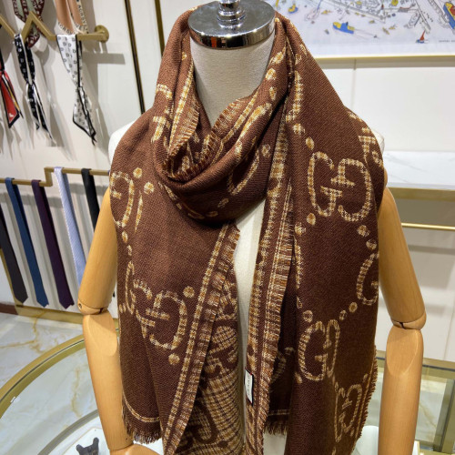 Double G Jacquard Double-sided Scarf