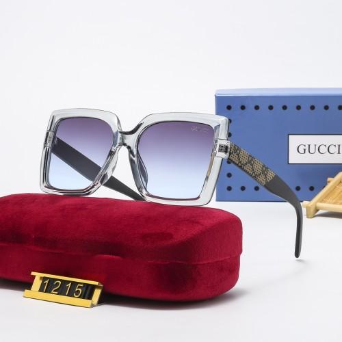Printed Large Frame HD Polarized Sunglasses