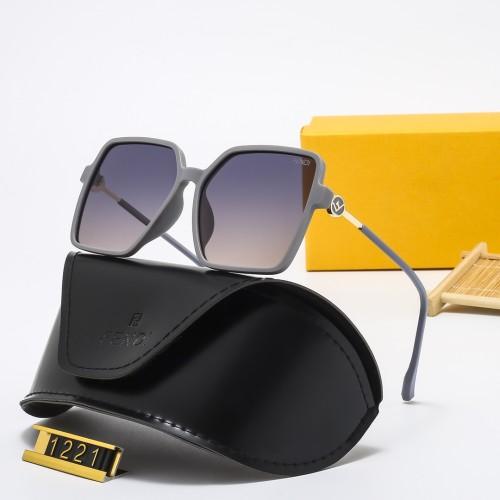 Temperament Large Frame Polarized Sunglasses