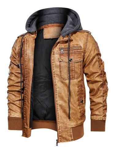 Patchwork Stand Collar Fall Zipper Jacket
