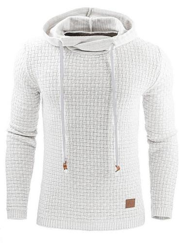 Men's Plus Size Hoodie Solid Colored Oversized Hooded Active Basic Hoodies Sweatshirts Long Sleeve Men clothing